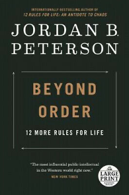 AU37.81 • Buy Beyond Order: 12 More Rules For Life By Jordan B Peterson