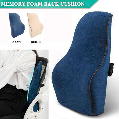 AU17.33 • Buy Lounger Bed Rest Lumbar Pillow Back Support Home Car Office Seat Chair Cushion