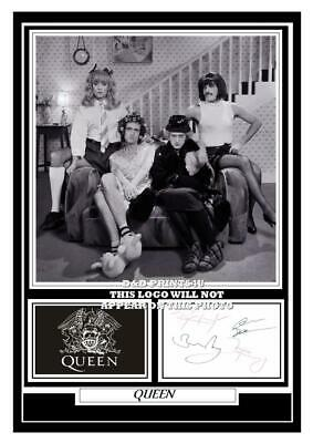 £14.99 • Buy (##86)  Queen Freddie Mercury  Signed A4 Photo/mounted/framed (reprint)+++++++++