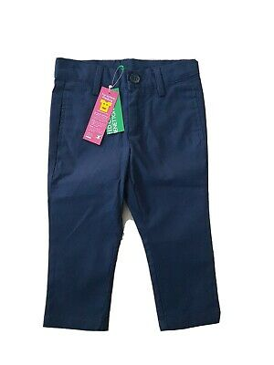 £9.99 • Buy United Colors Of Benetton Navy Blue TROUSERS SIZE 1Y 1 2 Years NWT 100% Cotton