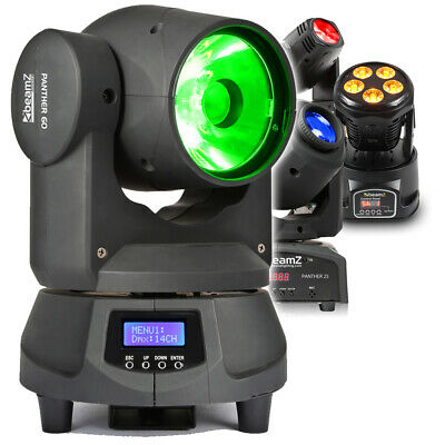 £120 • Buy CHOICE BEAMZ LED Moving Head Stage Wash DJ Disco Club Bar Party Effects Light