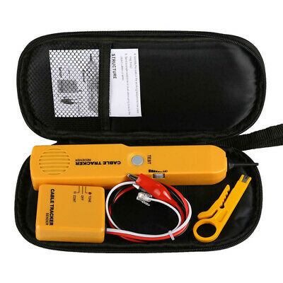 £12.89 • Buy Cable Tracker Tone Generator Probe  Wire Network Tester Kit Industrial Tool