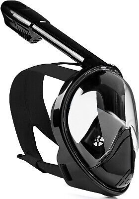 AU26.99 • Buy AU Full Face Diving Seaview Snorkel Snorkeling Mask Swimming Goggles For GoPro