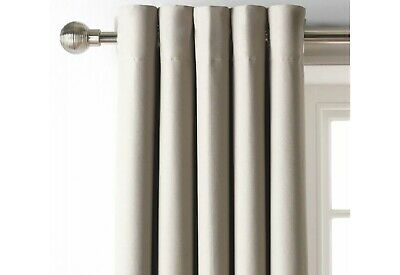 £19.99 • Buy Home 117 X 183cm Blackout Eyelet Curtains  In Mocha