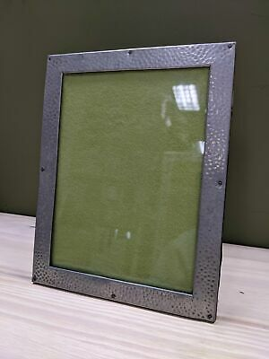 £38 • Buy Hand Hammered 1940's Pewter Picture Frame