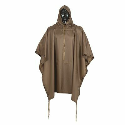 $30.99 • Buy Coyote Military Tactical Style All Weather Poncho Raincoat Ripstop Nylon 53 X 84