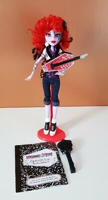 Monster High Operetta Doll With Stand Excellent Condition First Wave • 20.50£