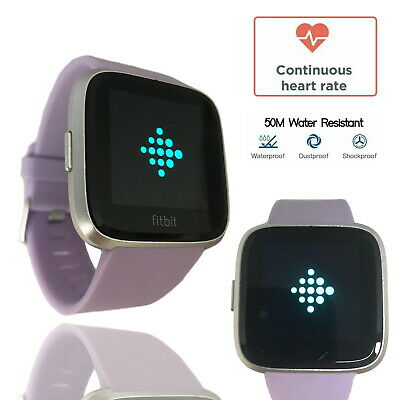 $ CDN129.62 • Buy Fitbit Versa Lite Lilac Special Edition Fitness Tracker Activit Band Smartwatch