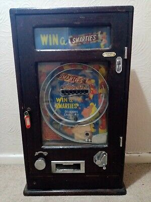 £995 • Buy  Allwin Smarties Machine Penny Arcade Coin Operated Arcade 1950`s