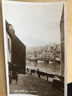 £0.99 • Buy Old Whitby Postcard (1936)