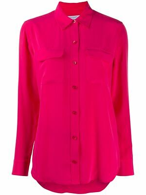 $ CDN66.72 • Buy Equipment Signature Silk Shirt - Size S - Red - New Without Tags
