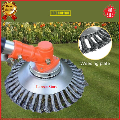 $ CDN22.56 • Buy Tough Trimmer 6  8  Steel Wire Wheel Brush Grass Head Weed Clean Free Shipping✅