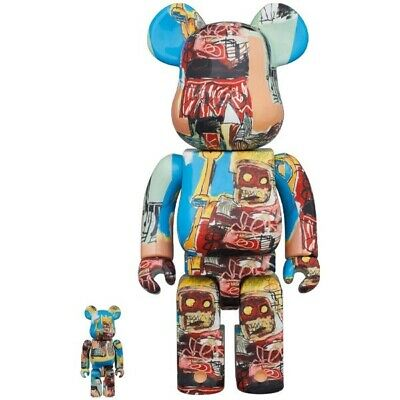 $377.43 • Buy Bearbrick Jean-Michel Basquiat #6 400% & 100% Set - **BRAND NEW**