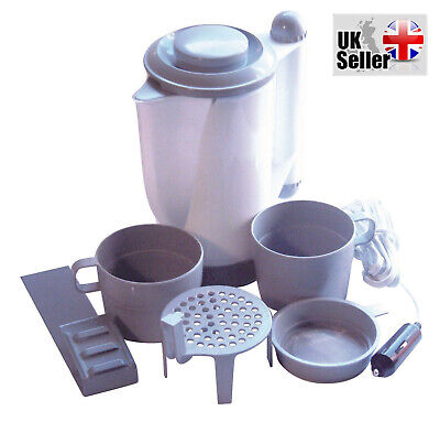 12V Traveling,Camping,Festival,Motorhome In Car Travel Kettle & Accessories New  • 11.99£