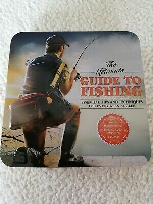 £3 • Buy Fishing Ultimate Guide Gift Set In Tin With Handy Book, Fishing Lure, Weights...