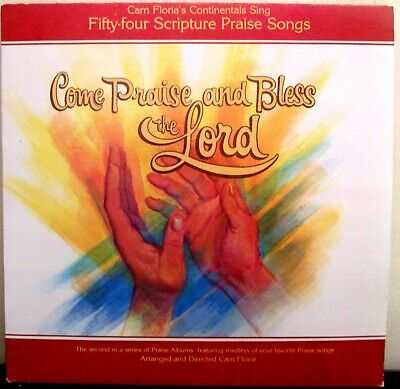 £2.89 • Buy Cam Floria's Continentals Come Praise And Bless The Lord Vol 2 LP RECORD ALBUM