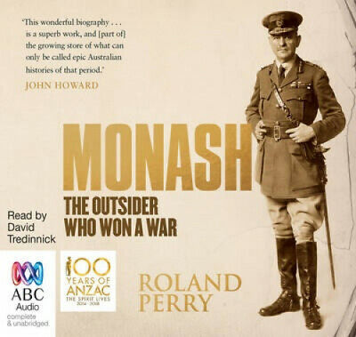 AU34.24 • Buy Monash: The Outsider Who Won A War [Audio] By Roland Perry