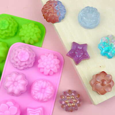 £1.79 • Buy Cake Jelly Cookies Soap Mold Chocolate Baking Mould Tray Wax Ice Cube Decorating