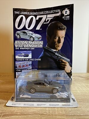 £5.50 • Buy James Bond Car Collection - Aston Martin V12 Vanquish - Die Another Day #2