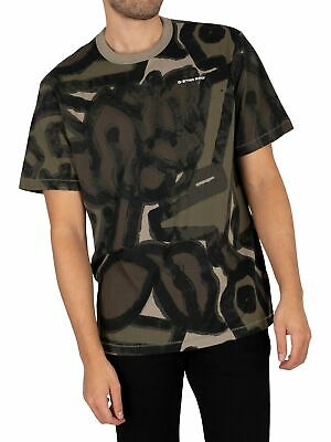 £29.95 • Buy G-Star Men's Brushed Object Loose T-Shirt, Green