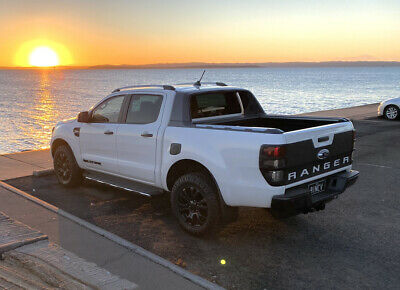 AU120 • Buy Ford Ranger Matte Black Full Tail Gate Decal/sticker/accessories