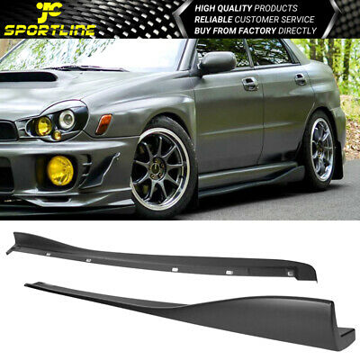 $149.99 • Buy Fits 02-07 Subaru Impreza WRX STI CS Style Side Skirts Extension Pair - PP