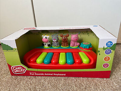 £10 • Buy Chad Valley My First Fun Sounds Animal Keyboard.