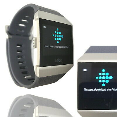 AU119.90 • Buy Fitbit Ionic Smart Watch 36mm Fitness Tracker Activity Grey Band Special Edition
