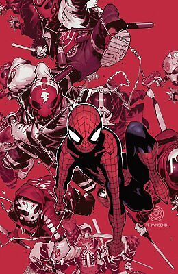 £7.99 • Buy NON-STOP SPIDER-MAN #1 BACHALO DIE-CUT VARIANT Bagged & Boarded NM