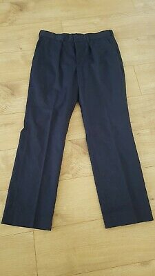 £10 • Buy Fire And Rescue Navy Firefighters Trousers 92R 36R