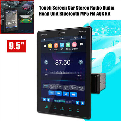 $163.99 • Buy 9.5  HD Bluetooth MP5 Player Car Touch Screen Navigation Android10.1 MirrorLink