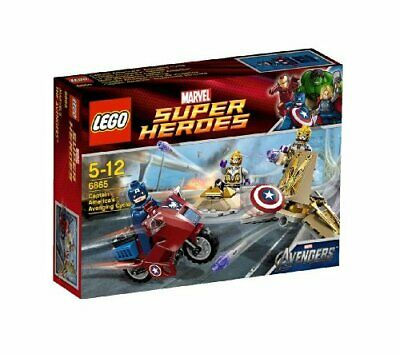 LEGO Super Heroes Captain America (TM) Avenjing Cycle 6865 • 129.21£