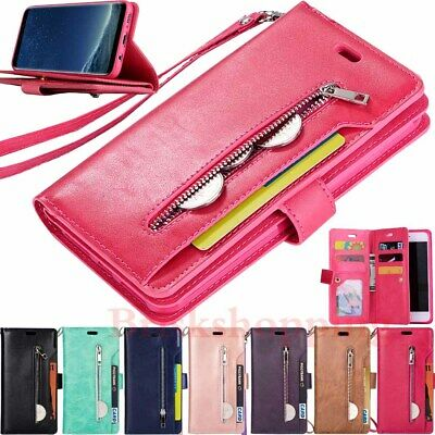 $ CDN15.77 • Buy For Samsung S21 Ultra S20 S10 S9 S8 Plus Wallet Card Holder Leather Case Cover