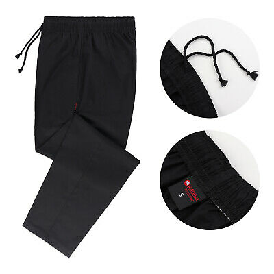 £10.99 • Buy Black Chef Trousers Pants Catering Chef Uniform UK Chef Trousers