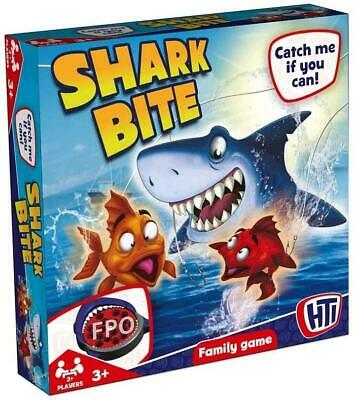 £9.95 • Buy HTI Toys Traditional Board Games, Shark Bite, Fishing, Kids & Families - Age 3 +