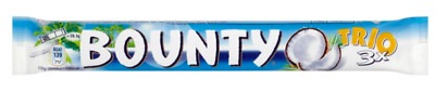 £11.79 • Buy Bounty Trio King Size Milk Chocolate Coconut 18 Or 30x 85g 23/05/21 OUT OF DATE