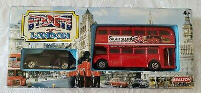£7.27 • Buy Real Toy Streets Of London Routemaster & Black Taxi New In Box