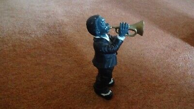 £20 • Buy Collectable Jazz Musician Figure / Ornament - Trumpet Player - Approx 17cm