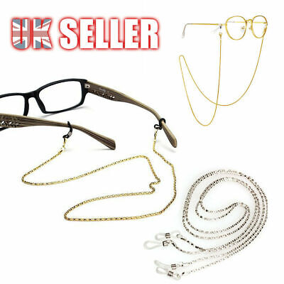 £2.89 • Buy Glasses Neck Cord Strap String Lanyard Chain Sunglasses Reading Spectacles Metal