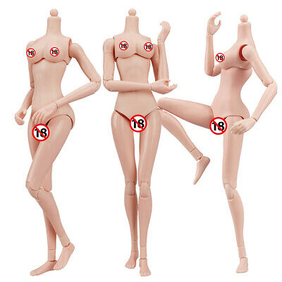 £18.55 • Buy 1/6 Scale Flexible Female Action Figure Body For Hot Toys TBLeague Phicen Doll
