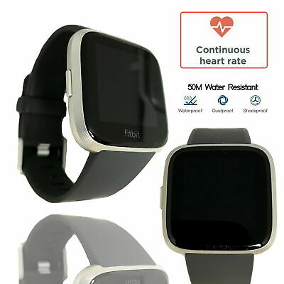 $ CDN138.27 • Buy Fitbit Versa Lite Special Edition Fitness Tracker Activity Grey Band Smartwatch