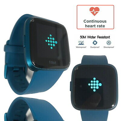 $ CDN146.91 • Buy Fitbit Versa Lite Special Edition Fitness Tracker Activity Blue Band Smartwatch