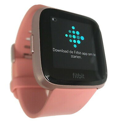 $ CDN129.62 • Buy Fitbit Versa Special Edition Fitness Tracker Activity Pink Rose Smart Watch