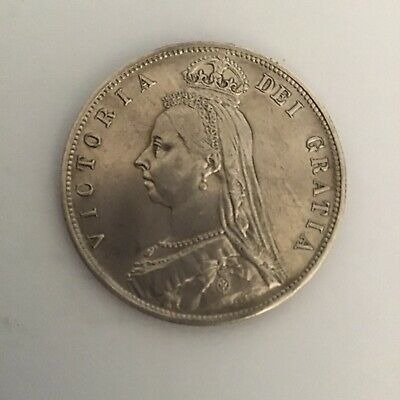 £45 • Buy Victoria Half Crown Dated 1887 In About Uncirculated Condition.