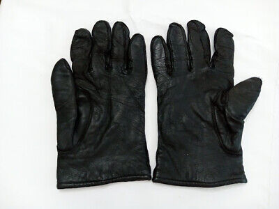 $7 • Buy Military Size Large 11 Mario Papa & Sons Leather Gloves W/ Wool Lining 1981?