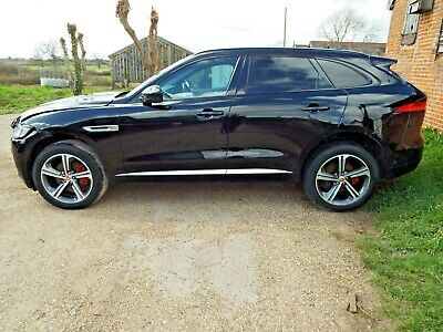 Jaguar F-pace 3.0 V6 S Awd 68 Reg Very Minor Damaged Repairable Salvage Drives • 19,999£