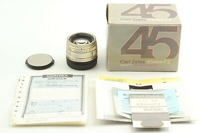 $ CDN547.66 • Buy   MINT In BOX   Contax Zeiss G Planar 45mm F/2 Lens For G1, G2 From JAPAN