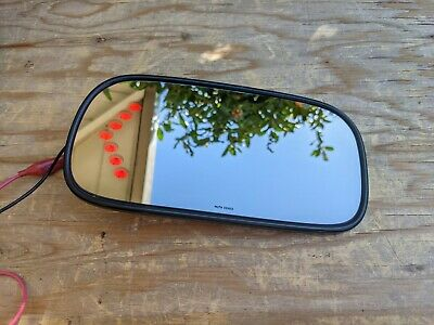$39.99 • Buy 🔥06-08 Cadillac DTS Buick Lucerne Driver Left Mirror Glass Turn Signal OEM M78