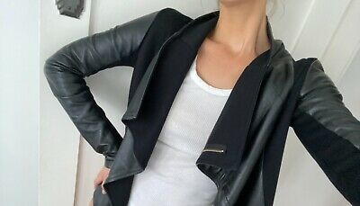 AU290 • Buy Viktoria & Woods Black Leather Jacket Size 0 (6/XS)