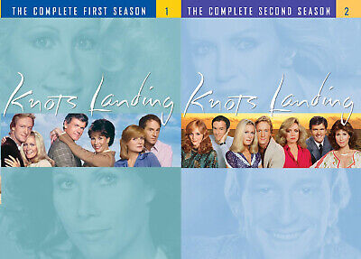 £64.42 • Buy Knots Landing The Complete First&Second Season 1+2(DVD Sets,9 Discs,Region 1)NEW